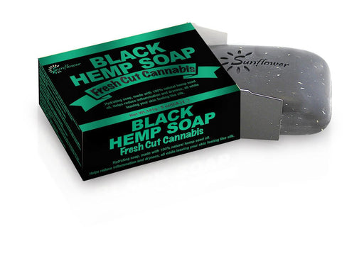 Difeel Black Hemp Soap - Fresh Cut Cannabis
