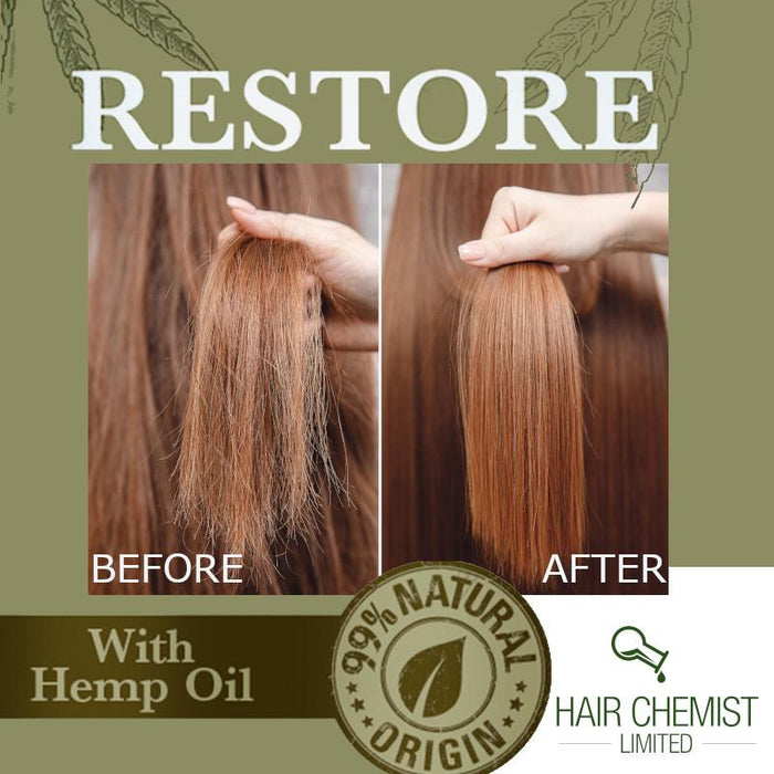 Hair Chemist Solutions Restore Hemp Hair Oil 2.5 oz.