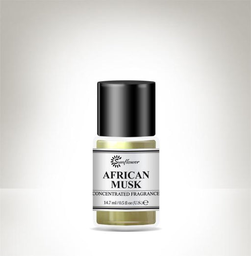 Black Top Body Oil - African Musk .5 oz.