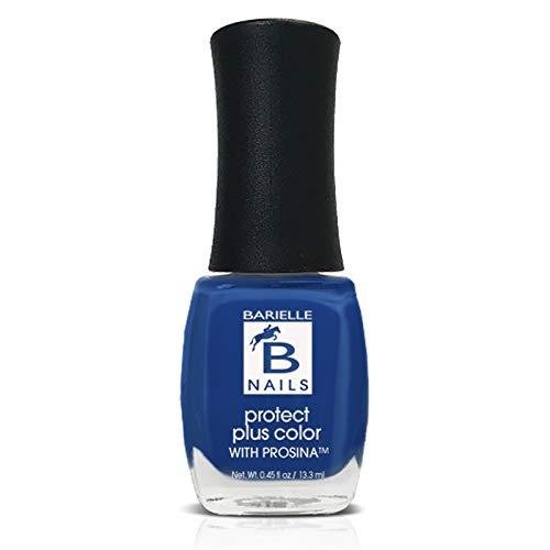 Protect+ Nail Color w/ Prosina - Blue Hawaiian (A Creamy Royal Blue) - Barielle - America's Original Nail Treatment Brand