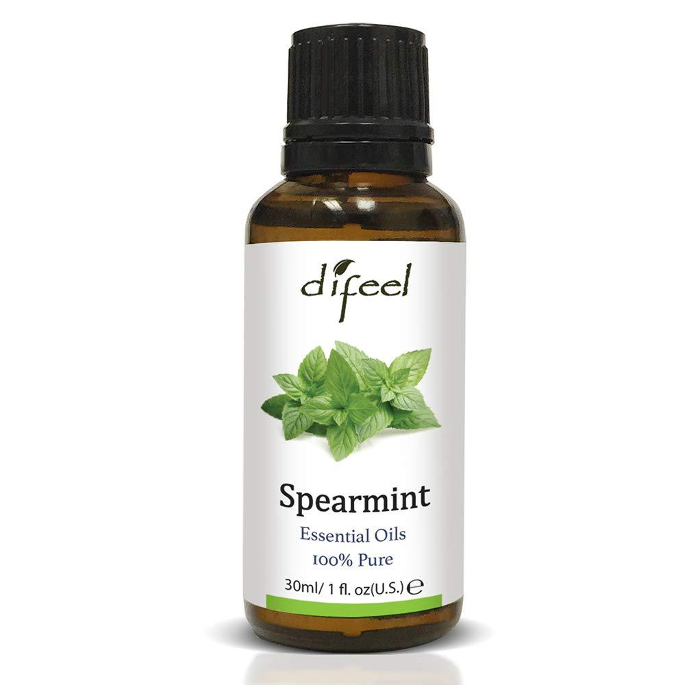 Difeel Essential Oil 100% Pure Spearmint Oil 1 oz.