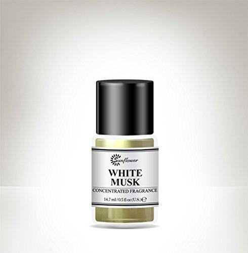 Black Top Body Oil - White Musk .5 oz.