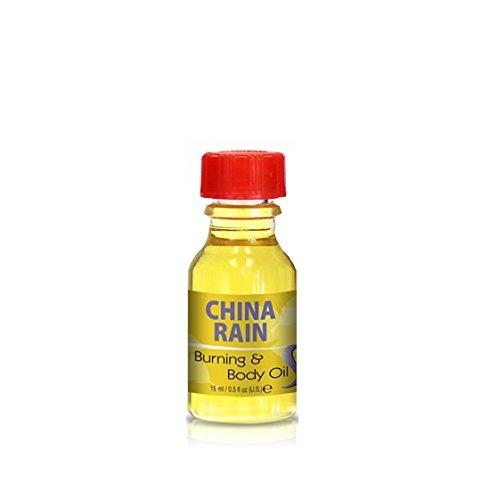Burning & Body Oil - China Rain .5 oz.