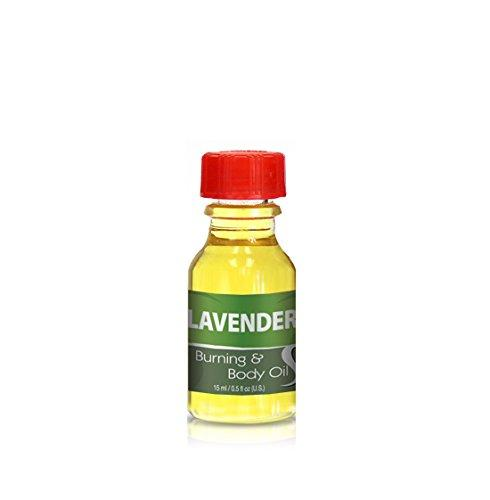 Burning & Body Oil - Lavender .5 oz.