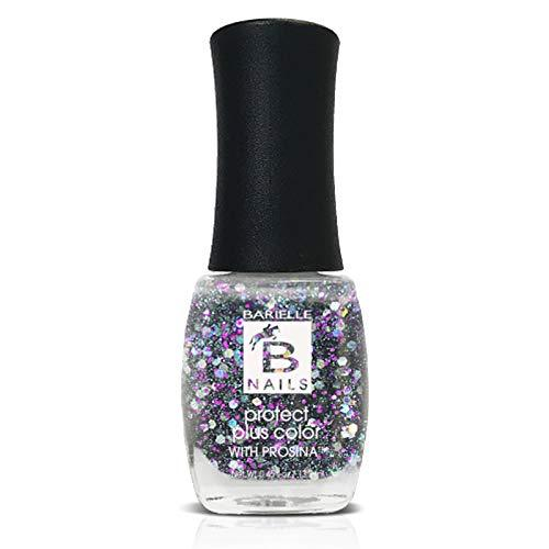 Protect+ Nail Color w/ Prosina - Gemstones (A Multi-Color Glitter) - Barielle - America's Original Nail Treatment Brand