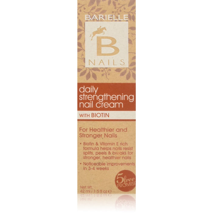 Barielle Nails Daily Strengthening Nail Cream with Biotin 1.5 oz. - Barielle - America's Original Nail Treatment Brand