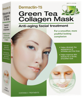 Dermactin-TS Collagen Mask - Green Tea