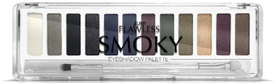 Zuri Flawless Smoky Eye Shadow Palette 12-Shades