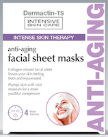 Dermactin-TS Anti-Aging Facial Sheet Mask 4-Count