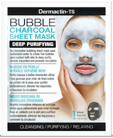 Dermactin-TS Bubble Charcoal Facial Sheet Mask