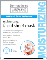 Dermactin-TS Facial Moisturizing Sheet Mask 4-Count