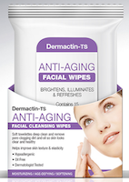 Dermactin-TS Anti-Aging Facial Cleansing Wipes 15-Count
