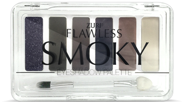 Zuri Flawless Smoky Eye Shadows Palette 6-Shades