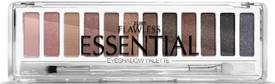 Zuri Flawless Essential Eye Shadow Palette 12-Shades