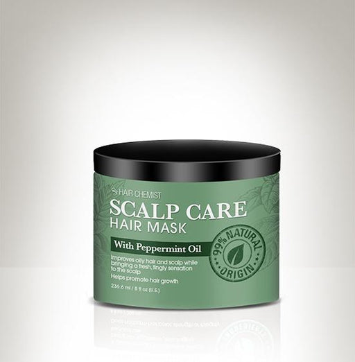 Hair Chemist Scalp Care Hair Mask with Peppermint Oil 8 oz.