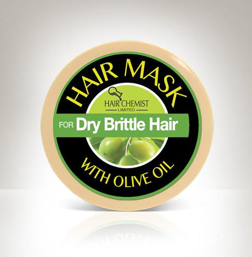 Hair Chemist Hair Mask for Dry Brittle Hair with Olive Oil 2 oz.