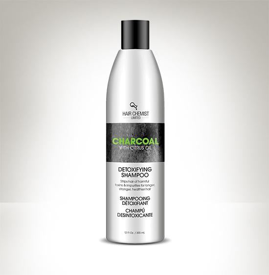 Hair Chemist Charcoal with Citrus Oil Detoxifying Shampoo 10 oz.