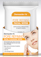 Demactin-TS Pore Refining Facial Cleansing Wipes 15-Count