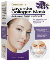 Dermactin-TS Collagen Mask - Lavender