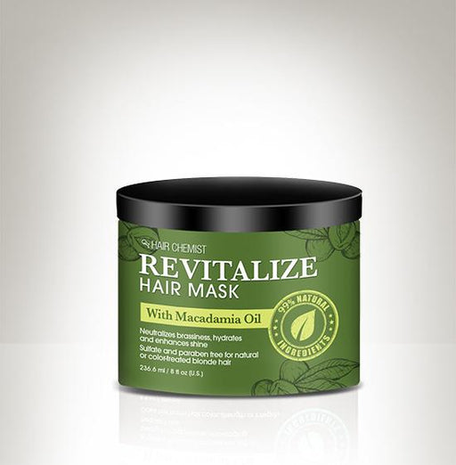 Hair Chemist Revitalize Hair Mask with Macadamia Oil 8 oz.