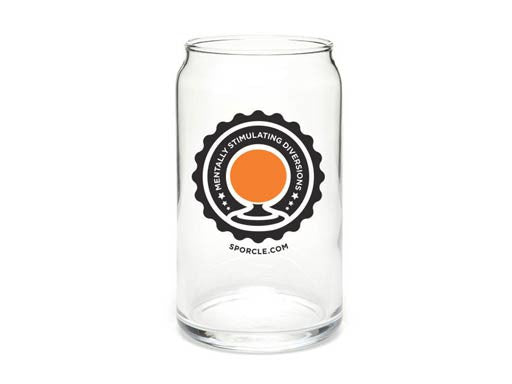Sporcle Pint Glass