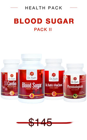 BLOOD SUGAR SUPPORT PACK II