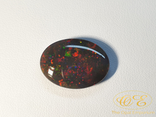 Load image into Gallery viewer, 13.90ct Solid Lightning Ridge Black Opal