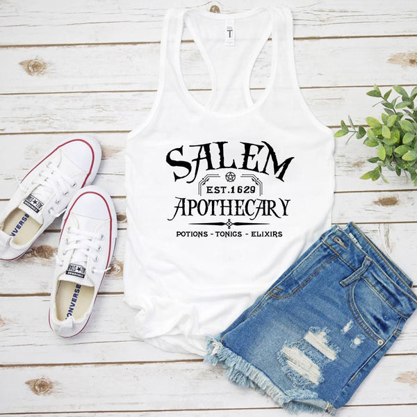 Apothecary Witch Summer Tank Top
