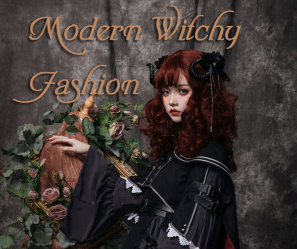 witch fashion gothic clothing