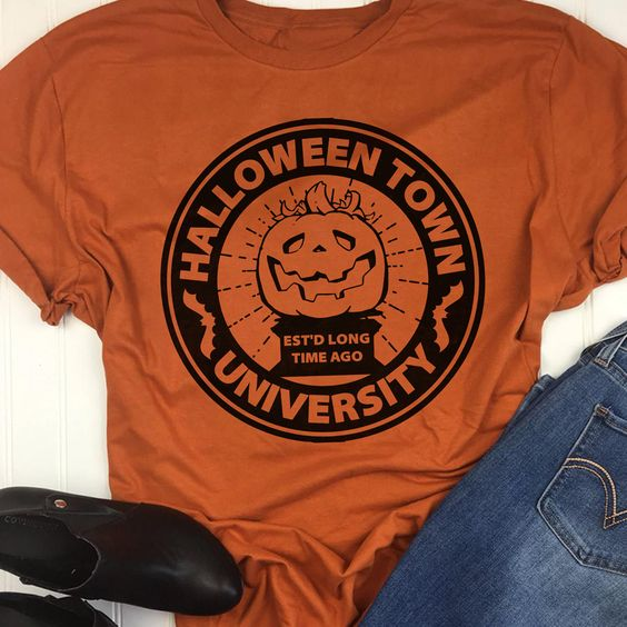 Halloween Shirt - halloween town university