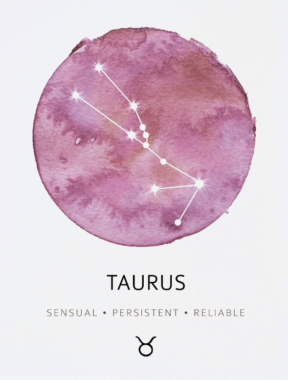 Taurus: sensual, persistent, reliable