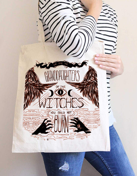 witch accessories - tote bag