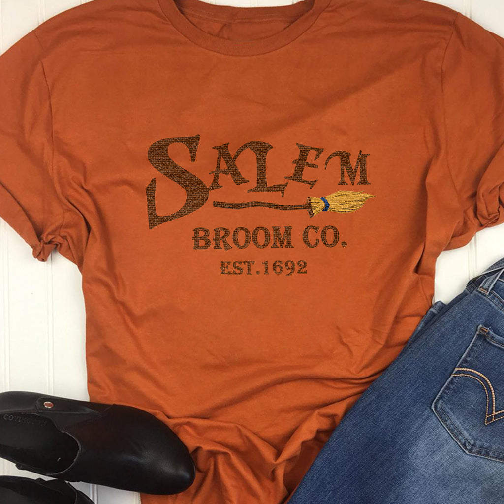 Salem broom company CO EST.1692