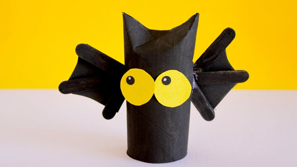 Bat made from cardboard paper