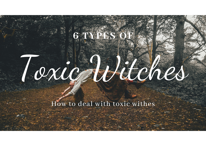 witch craft 101 5 types of toxic Witch