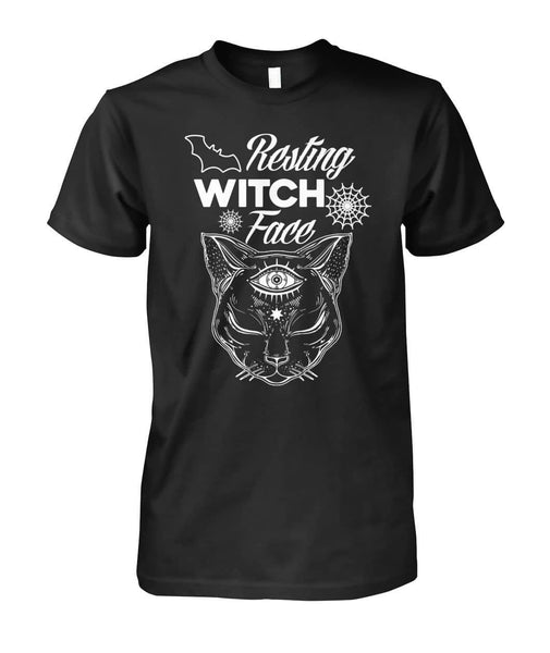 Resting Witch Face Shirt - WitchCraft 101