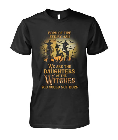 Born Of Fire Fed By Ash Shirt - Witch Apparel