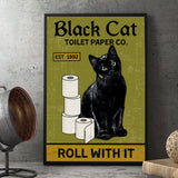 Black Cat Toilet Paper Co - Witch Apparel