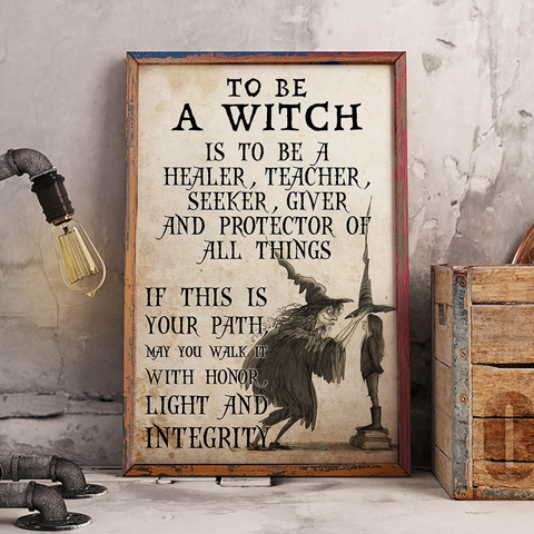 To Be A Witch - Witch Apparel