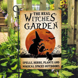 Witches' garden Magical Outdoors Custom Flag 24x36