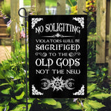 No Soliciting flag Custom Flag 24x36
