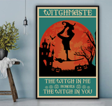 Witchmaste Honors You Poster