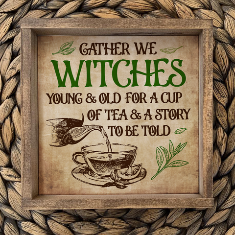 Gather We Witches Poster