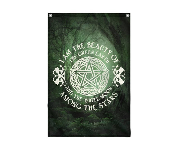 Beauty Of The Green Earth Flag Custom Flag 24x36