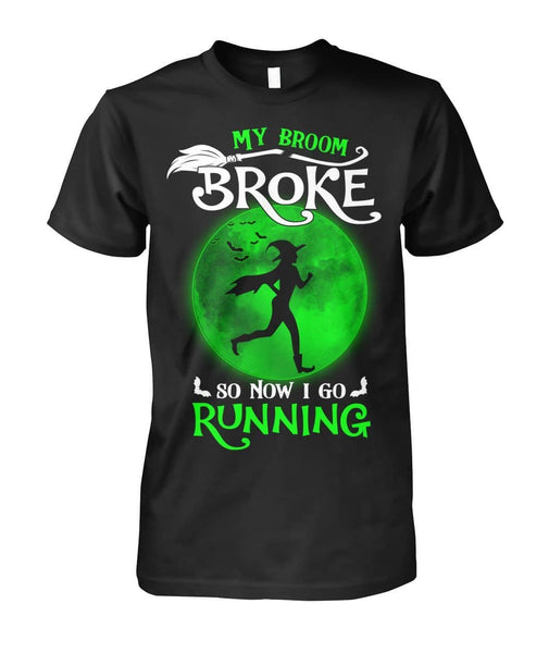 Now I Go Running Shirt - Witch Apparel