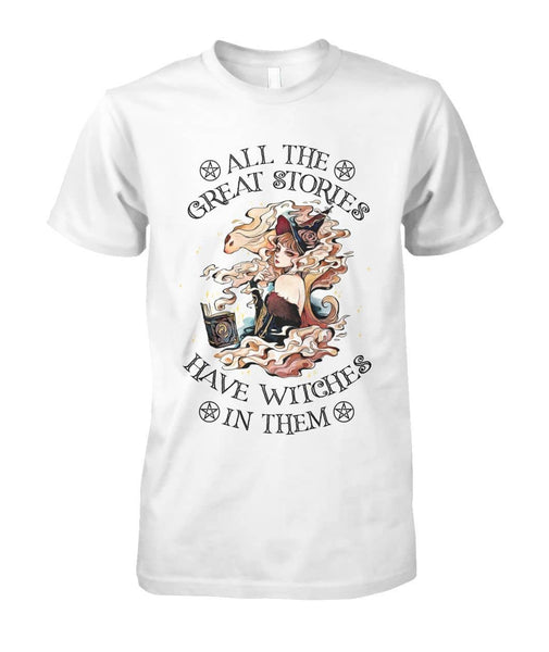 Great Stories Have Witches Shirt - Witch Apparel