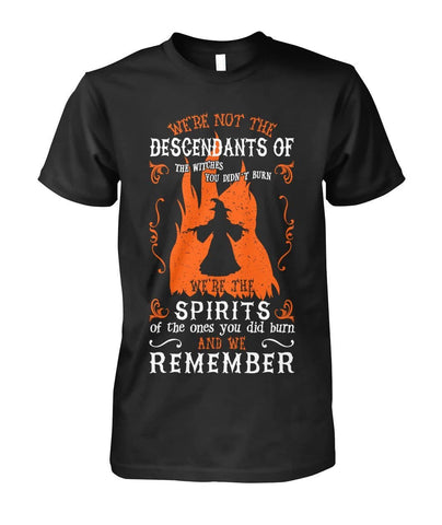 We're Not The Descendants Shirt - Witch Apparel