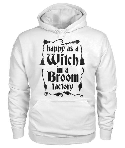 Happy As A Witch Shirt - Witch Apparel