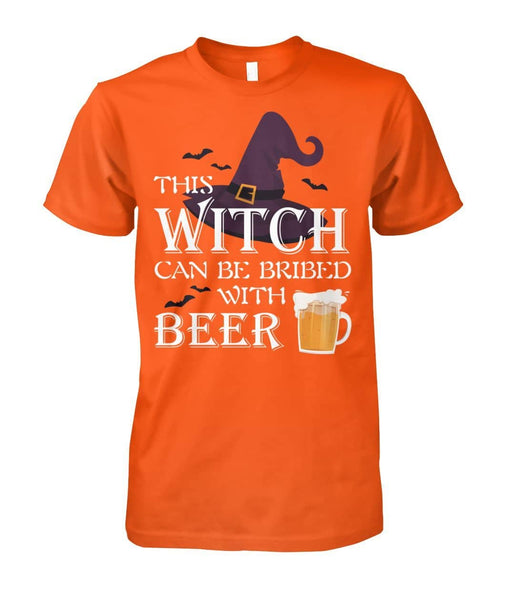 Bribed With Beer Shirt - Witch Apparel