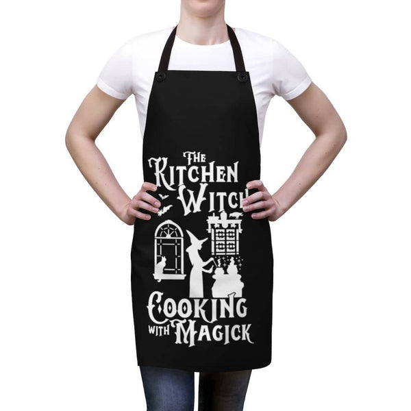 Witch Cooking With Magick Apron